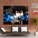 Blue Exorcist Rin Okumura Rain Sword Anime Art Huge Giant Poster