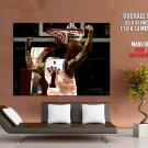 Derrick Rose Dunk Chicago Nba Huge Giant Print Poster