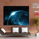 Blue Planet Space Star Wars Huge Giant Print Poster