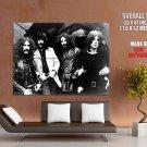 Black Sabbath Heavy Metal Band Music Bw Huge Giant Print Poster