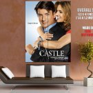 Castle Stana Katic Nathan Fillion TV Series HUGE GIANT Print Poster