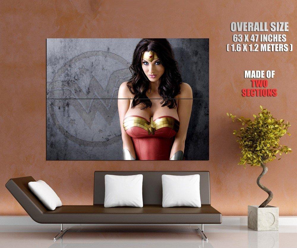 Alice Goodwin Wonder Woman Hot Model Huge Giant Print Poster