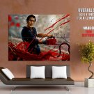 Evil Dead Chainsaw Blood Art Movie HUGE GIANT Print Poster