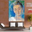 Buddha Portrait Painting Art HUGE GIANT Print Poster