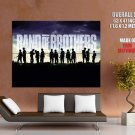 Band Of Brothers Tv Series Huge Giant Print Poster