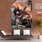 Batgirl Blood Dc Comic Art Huge Giant Print Poster