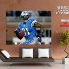 Calvin Johnson Detroit Lions Nfl Sport Huge Giant Print Poster