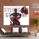 The Expendables 2 Sylvester Stallone Art HUGE GIANT Print Poster