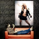 Avril Lavigne Hot Singer Sexy Topless Music Huge 47x35 Print POSTER