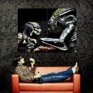 Alien Vs Predator Game Art Huge 47x35 Print POSTER