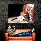 Inori Yuzuriha Guilty Crown Anime Manga Art Huge 47x35 Print POSTER