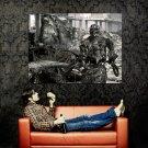 Terminator Machine Gun City Ruins Salvation Movie Huge 47x35 Print POSTER
