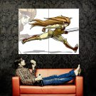 Cheetara ThunderCats Cartoon Art TV Huge 47x35 Print POSTER