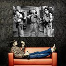 Ghostbusters Ray Peter Egon BW Movie Huge 47x35 Print POSTER