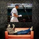 Alex Rodriguez Baseball Bat MLB Huge 47x35 Print POSTER