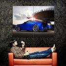 Lexus LFA Blue Supercar Huge 47x35 Print POSTER