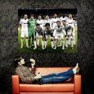 Real Madrid Football Team Sport Huge 47x35 Print Poster