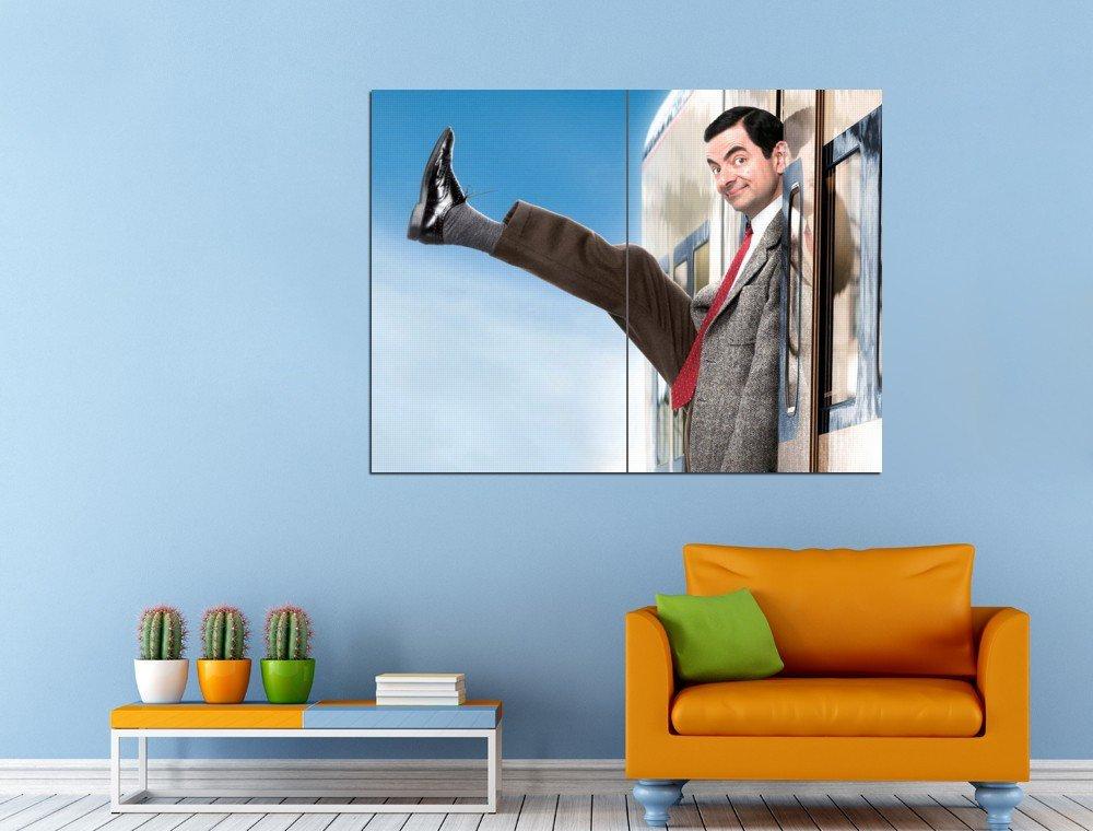 Mr Bean Movie Comedy Rowan Atkinson Huge 47x35 Print POSTER