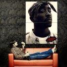 2PAC Hip Hop Rap Music Singer Portrait Huge 47x35 Print Poster