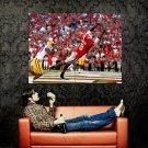 A J Green Cincinnati Bengals NFL Sport Huge 47x35 Print Poster