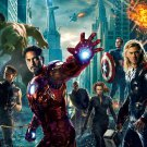 The Avengers Hulk Thor Black Widow Hawkeye Movie 32x24 Print POSTER