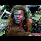 Braveheart Movie Mel Gibson Blood 32x24 Print POSTER