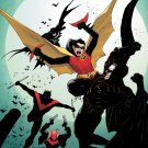 Batman Robin DC Comic Art 32x24 Print Poster