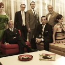 Mad Men Cast Characters TV Series 16x12 Print Poster