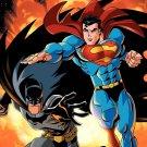 Batman Superman Comics Dc Universe 24x18 Print Poster