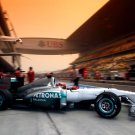 Mercedes GP Petronas Formula One F1 Car 24x18 Print Poster