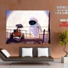 Wall E And Eve Movie Huge Giant Print Poster