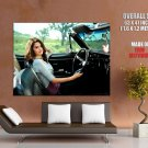 Selena Gomez Car Singer Music Huge Giant Print Poster