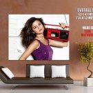 Selena Gomez Actress Singer Music Huge Giant Print Poster