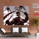 Half Life 2 Gordon Freeman Strider Game Art Huge Giant Print Poster
