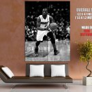 Dwyane Wade Miami Heat Nba Basketball Bw Huge Giant Print Poster