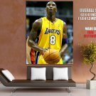 Kobe Bryant Free Throw Nba Basketball Huge Giant Print Poster
