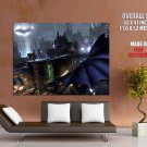 Batman Arkham City Flight Game Huge Giant Print Poster