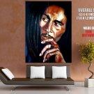 Bob Marley Jamaica Reggae Portrait Art Huge Giant Print Poster