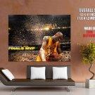 Kobe Bryant Mvp Finals Celebration Nba Huge Giant Print Poster