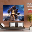 Guild Wars Eye Of The North Bear Art Mmorpg Huge Giant Print Poster
