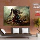 Heroes Of Newerth Ho N Sand Wraith Art Huge Giant Print Poster