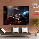 Eve Online Mercenaries Video Game Huge Giant Print Poster