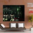 Spartans Rain Painting Art Movie Huge Giant Print Poster