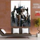 Mech Prawn Battle Suit Art District 9 Movie Huge Giant Print Poster