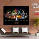 Star Wars Great Movie Collage Art Huge Giant Print Poster