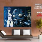 Ghost In The Shell Batou Motoko Kusanagi Art Huge Giant Print Poster