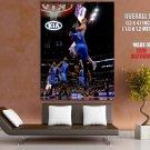 Blake Griffin Monster Dunk Kendrick Perkins Nba Huge Giant Print Poster