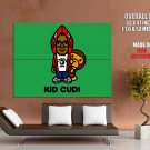 Kid Cudi Monkey Art Hip Hop Music Huge Giant Print Poster