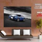 Dodge Challenger Srt8 Stripes Muscle Car Huge Giant Print Poster