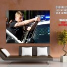 Officer Ben Sherman Police Car Gun Southland Huge Giant Print Poster